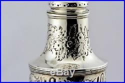1806 Georgian Antique Silver Muffineer Sugar Castor Peter & William Bateman