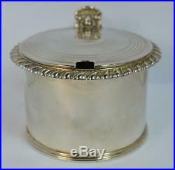 1818 Georgian Solid Silver Large Mustard or Preserve Pot