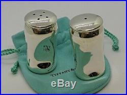 1984 Tiffany & Co. Elsa Peretti Sterling Silver Salt & Pepper Shaker Set