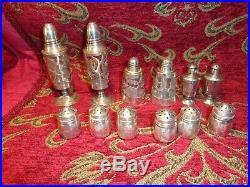 295 Grams of Sterling Silver Scrap Lot salt and pepper shakers