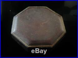 4 Antique Silver Triangular Salt Cellars in Case, Sheffield 1885, Henry Atkin