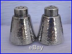 4 TOYOKOKI 990 silver ARTS & CRAFTS salt, pepper SHAKER