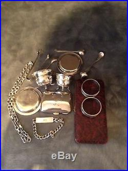 500 Grams Of Solid Silver Items For Scrap Or Resale
