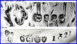8944 Antique Silver Owl Condiment Set
