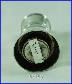 Antique Milk Churn Silver Pepper MIll JG&S Birmingham 1919 7.5cm A702517