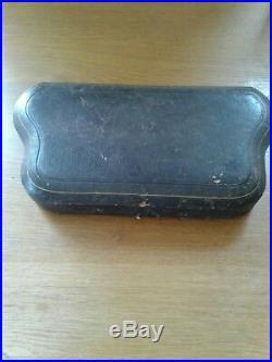 Antique Scottish Solid Sterling Silver Boxed Set Salts Edinburgh 1871
