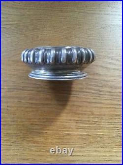 Antique Solid Silver George III Salt London 1728