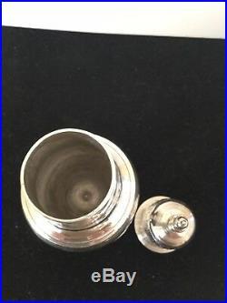 Antique Solid Silver Hester Bateman Pepper Sugar Caster London 1787