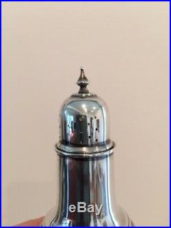Antique Sterling Silver Salt and Pepper Shaker Set by Frank M. Whiting
