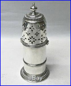 Antique William & Mary Silver Sugar Caster by Thomas Brydon 1690 stock id 8362