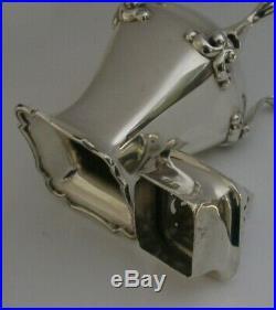 Beautiful Art Nouveau Sterling Silver Sugar Caster Shaker 1913 Antique