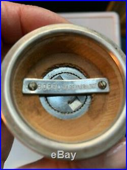 Cartier Antique Sterling Pepper Grinder Made In France Borel Collectors Item