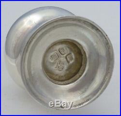 Caster Superb Georgian English Solid Silver, London 1765, Jabez Daniell, 134mm