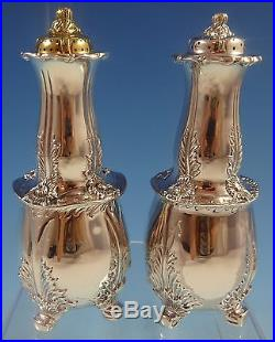 Chrysanthemum by Tiffany and Co Sterling Silver Salt & Pepper Shakers 2pc #1306