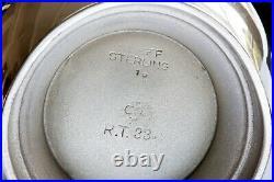Colonial Williamsburg Stieff Sterling Silver Rt-33 Creamer
