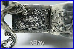 Coppini Italy 800 Silver RARE Gothic Revival c. 1995 AMAZING Master Salt RARE