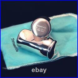 Designer Tiffany & Co. Elsa Peretti Thumbprint Salt and Pepper Shakers (NEW)