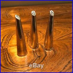 E. Dragsted Danish Sterling Silver Salt & Pepper Shakers