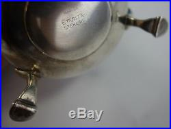 Empire Sterling Silver Salt and Pepper Shaker Pair Colonial Style (#2656)