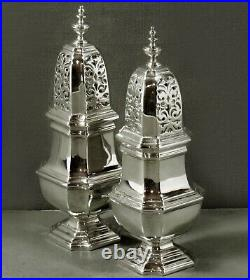 English Sterling Casters 1931 GEORGIAN 958 PURE