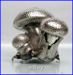Exquisite Buccellati Mushroom Salt & Pepper Shaker