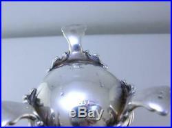 Fabulous Sterling pr Salt & Pepper Shakers by HOWARD & CO New York ornate