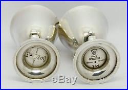 Fine Georg Jensen Acorn No. 741 Solid Silver Salt & Pepper Shakers Johan Rohde