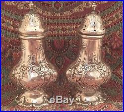 Francis 1st Reed & Barton Large Salt & Pepper Shakers