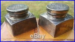 GEORG JENSEN sterling silver salt & pepper shaker set Washington 239