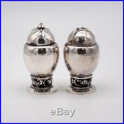Georg Jensen Blossom Salt & Pepper Shakers