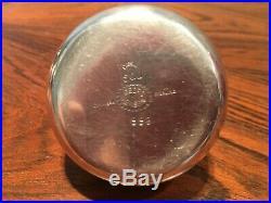 Georg Jensen Rare Sterling Silver Salt & Pepper Shakers #995