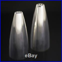 Georg Jensen Silver Salt & Pepper Shakers Henning Koppel #1102