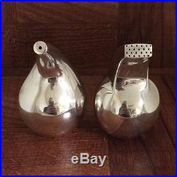 Georg Jensen Sterling Silver #965 Salt & Pepper Shakers Denmark. 925