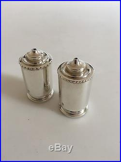 Georg Jensen Sterling Silver Salt and Pepper Shakers