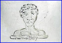 George III Silver Warwick Cruet, London 1762. Stock ID 9155