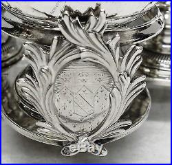 George III Silver Warwick Cruet by JOHN DELMESTER. London 1761. Stock ID 9300