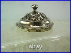 George IV Solid Silver Pepper Pounce Pot, Thomas Barker, London 1824