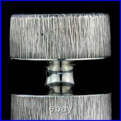 Gerald Benney & Simon Benney sterling silver salt grinder