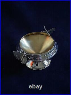 Gorham figural Butterfly Sterling Salt Dish No mono