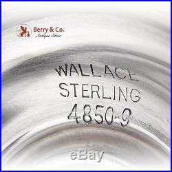 Grande Baroque Salt Pepper Shaker Set Sterling Silver 2 Pieces Wallace 1941