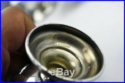 Grande Baroque Wallace Sterling Silver 5 1/4 Salt & Pepper Shakers 5.6 oz