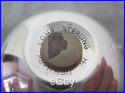 Hans Hansen 925 sterling silver Cohr Salt & Pepper Shakers Denmark