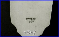 Japanese Sterling Silver Box (2) Signed Geisha