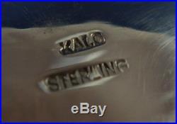 Kalo Sterling Silver Salt Dip and Pepper Shaker Set 2pc (#2297)