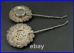 Kuyeda Salt and Pepper Shakers Vintage Sterling Silver 925 Sunflower Set Flower
