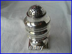 Large Shaker Bateman Sterling Silver London 1817