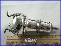 M. Fred Hirsch Vintage Solid Sterling Silver Salt & Pepper Shakers 119.2 Grms