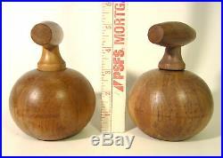 Mid Century Modern NISSEN Denmark Teak Wood Salt Grinder Peppermill Peugeot MCM