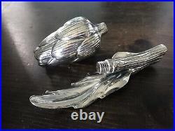 Missiaglia Sterling Silver Handcrafted Artichoke Salt Shaker