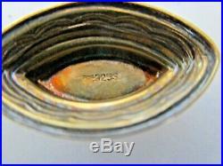 Norwegian Silver & Enamel Viking Long Boat Salt, Pepper Pot, Aksel Holmsen